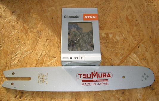 12tum Tsumura svärd + sågkedja Stihl Picco Super till Stihl motorsågar