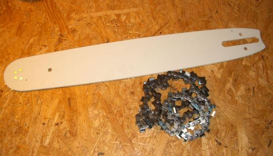 """16"""" svärd med Square Ground sågkedja Stihl motorsågar"""