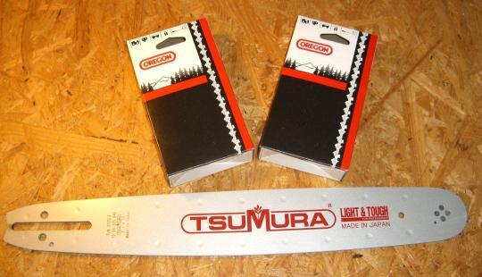 """Tsumura svärd 15"""" 325x1,5mm Husqvarna, Jonsered"""