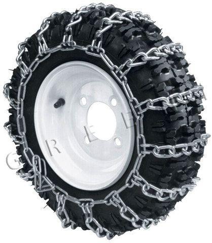 Strålande Snökedjor sats 18x8.50-8 till åkklippare, traktor VM-78